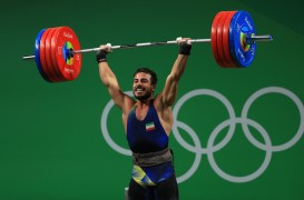 Rio 2016 - Weightlifting - 85kg - Kianoush Rostami - Gold (World record) - Olympic Games in Rio de Janeiro, Brazil - Foto Mike Ehrmann (Getty Images)