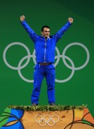 Rio 2016 - Weightlifting - 94kg - Sohrab Moradi - Gold medal winner - Olympic Games in Rio de Janeiro, Brazil - Foto Mike Ehrmann (Getty Images)
