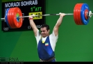 Rio 2016 - Weightlifting - 94kg - Sohrab Moradi - Gold medal winner - Olympic Games in Rio de Janeiro, Brazil - (IRNA)