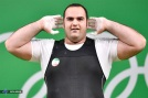 Rio 2016 - Weightlifting - plus 105kg - Behdad Salimi Kordasiabi - Olympic and World Record in snatch (216kg) - 02 - Olympic Games in Rio de Janeiro, Brazil - Foto (ISCA News)