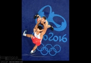 Rio 2016 - Wrestling - Freestyle 125kg - Komeil Nemat Ghasemi - Silver medal winner - Olympic Games in Rio de Janeiro, Brazil - Photo IRNA