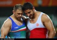 Rio 2016 - Wrestling - Freestyle 125kg - Komeil Nemat Ghasemi - Silver medal winner - Olympic Games in Rio de Janeiro, Brazil - Photo Mohammad Hassanzadeh (Tasnim) 02