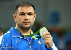 Rio 2016 - Wrestling - Freestyle 125kg - Komeil Nemat Ghasemi - Silver medal winner - Olympic Games in Rio de Janeiro, Brazil - Photo Payam Parsaei (YJC)