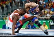 Rio 2016 - Wrestling - Freestyle 57kg - Hassan Sabzali Rahimi (Bronze medal winner) - Olympic Games in Rio de Janeiro, Brazil - (IRNA)