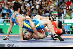 Rio 2016 - Wrestling - Freestyle 74kg - Hassan Aliazam Yazdanicharati (Hassan Yazdani Cherati) - Gold medal winner - Olympic Games in Rio de Janeiro, Brazil - (IRNA) 01