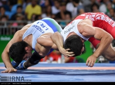 Rio 2016 - Wrestling - Freestyle 74kg - Hassan Aliazam Yazdanicharati (Hassan Yazdani Cherati) - Gold medal winner - Olympic Games in Rio de Janeiro, Brazil - (IRNA) 02