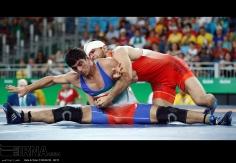 Rio 2016 - Wrestling - Freestyle 74kg - Hassan Aliazam Yazdanicharati (Hassan Yazdani Cherati) - Gold medal winner - Olympic Games in Rio de Janeiro, Brazil - (IRNA) 03