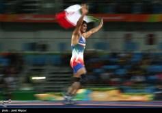 Rio 2016 - Wrestling - Freestyle 74kg - Hassan Aliazam Yazdanicharati (Hassan Yazdani Cherati) - Gold medal winner - Olympic Games in Rio de Janeiro, Brazil - Photo Javid Nikpour (Tasnim)
