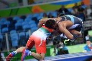 Rio 2016 - Wrestling - Freestyle 86kg - Alireza Mohammad Karimimachiani (Karimi Machiani) - Olympic Games in Rio de Janeiro, Brazil - Photo Mehdi Zare (Mehr News) 01
