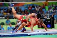 Rio 2016 - Wrestling - Freestyle 86kg - Alireza Mohammad Karimimachiani (Karimi Machiani) - Olympic Games in Rio de Janeiro, Brazil - Photo Mehdi Zare (Mehr News) 02