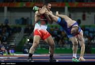 Rio 2016 - Wrestling - Freestyle 97kg - Reza Yazdani (Reza Mohammad Ali Yazdani)- Olympic Games in Rio de Janeiro, Brazil - Photo Javid Nikpour (Tasnim)