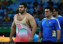 Rio 2016 - Wrestling - Greco-Roman 130kg - Bashir Asgari Babajanzadeh Darzi - Olympic Games in Rio de Janeiro, Brazil - 03 - Foto Mohammad Hassanzadeh (TNA)
