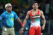 Rio 2016 - Wrestling - Greco-Roman 59kg - Hamid Sourian (Hamid Mohammad Soryan) - Olympic Games in Rio de Janeiro, Brazil - 01 - Foto Payam Parsaei (YJC)