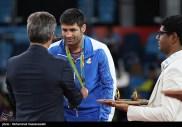 Rio 2016 - Wrestling - Greco-Roman 75kg - Saeid Morad Abdevali (Bronze medal winner) - Olympic Games in Rio de Janeiro, Brazil - 03 - Foto Mohammad Hassanzadeh (TNA)