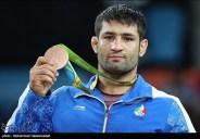 Rio 2016 - Wrestling - Greco-Roman 75kg - Saeid Morad Abdevali (Bronze medal winner) - Olympic Games in Rio de Janeiro, Brazil - 04 - Foto Mohammad Hassanzadeh (TNA)