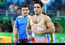 Rio 2016 - Wrestling - Greco-Roman 85kg - Habibollah Jomeh Akhlaghi - Olympic Games in Rio de Janeiro, Brazil - 01 - Foto Mohammad Hassanzadeh (TNA)