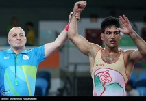Rio 2016 - Wrestling - Greco-Roman 85kg - Habibollah Jomeh Akhlaghi - Olympic Games in Rio de Janeiro, Brazil - 02 - Foto Mohammad Hassanzadeh (TNA)