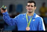 Rio 2016 - Wrestling - Greco-Roman 98kg - Ghasem Gholamreza Rezaei (Bronze medal winner) - Olympic Games in Rio de Janeiro, Brazil - Foto Mohammad Hassanzadeh (TNA)