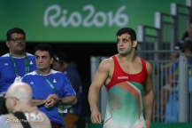 Rio 2016 - Wrestling - Greco-Roman 98kg - Ghasem Gholamreza Rezaei (Bronze medal winner) - Olympic Games in Rio de Janeiro, Brazil - Foto Payam Parsaei (YJC)