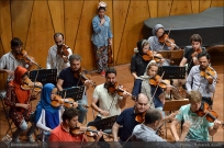 Tehran Symphony Orchestra and World Youth Orchestra - Rehearsal - Tehran, Iran - Foto by Bahareh Asadi for Honar Online - 3