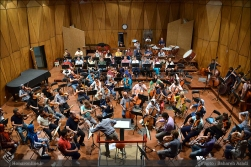 Tehran Symphony Orchestra and World Youth Orchestra - Rehearsal - Tehran, Iran - Foto by Bahareh Asadi for Honar Online - 4
