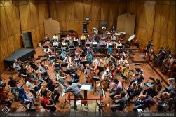 Tehran Symphony Orchestra and World Youth Orchestra - Rehearsal - Tehran, Iran - Foto by Bahareh Asadi for Honar Online - 4