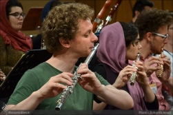 Tehran Symphony Orchestra and World Youth Orchestra - Rehearsal - Tehran, Iran - Foto by Bahareh Asadi for Honar Online - 5