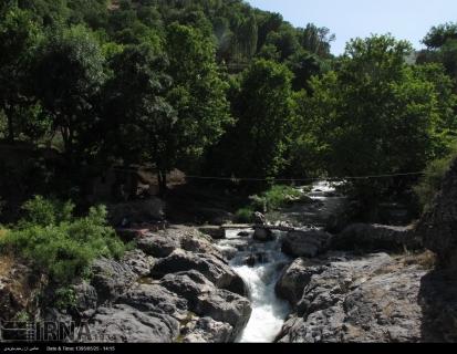 West Azerbaijan, Iran - Sardasht County - Shalmash Falls - (IRNA) 1