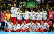 Iran men's sitting volleyball team, gold medal winners at the Paralympic Games in Rio de Janeiro, Brazil - Foto Friedemann Vogel (Getty Images)