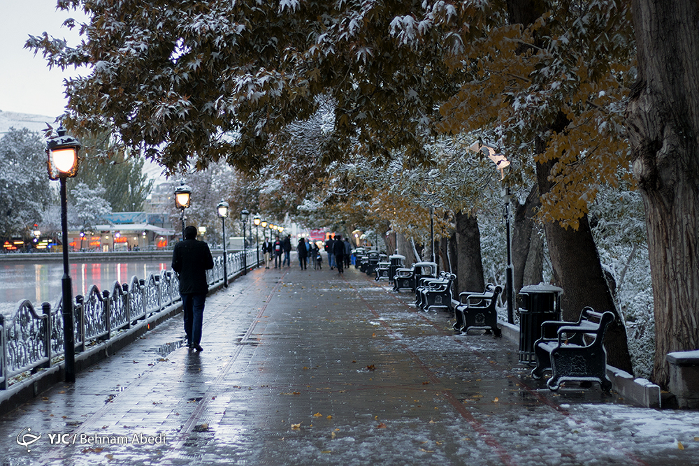 photo series  autumn in iran  u2013 first snow in tabriz