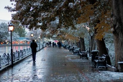 Photo series: Autumn in Iran – First snow in Tabriz