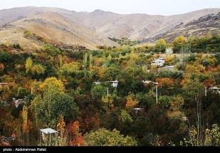 Autumn nature in Hamedan Province, Iran (Photo credit: Abdolrahman Rafati / Tasnim News Agency)