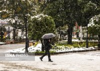 Autumn snow in the northern Iranian provinces (Photo credits: Ashkan Shabani, ISNA)