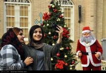 Christmas 2016/2017 in Iran - Vank Cathedral, New Julfa district in Isfahan (Photo credit: IRNA)