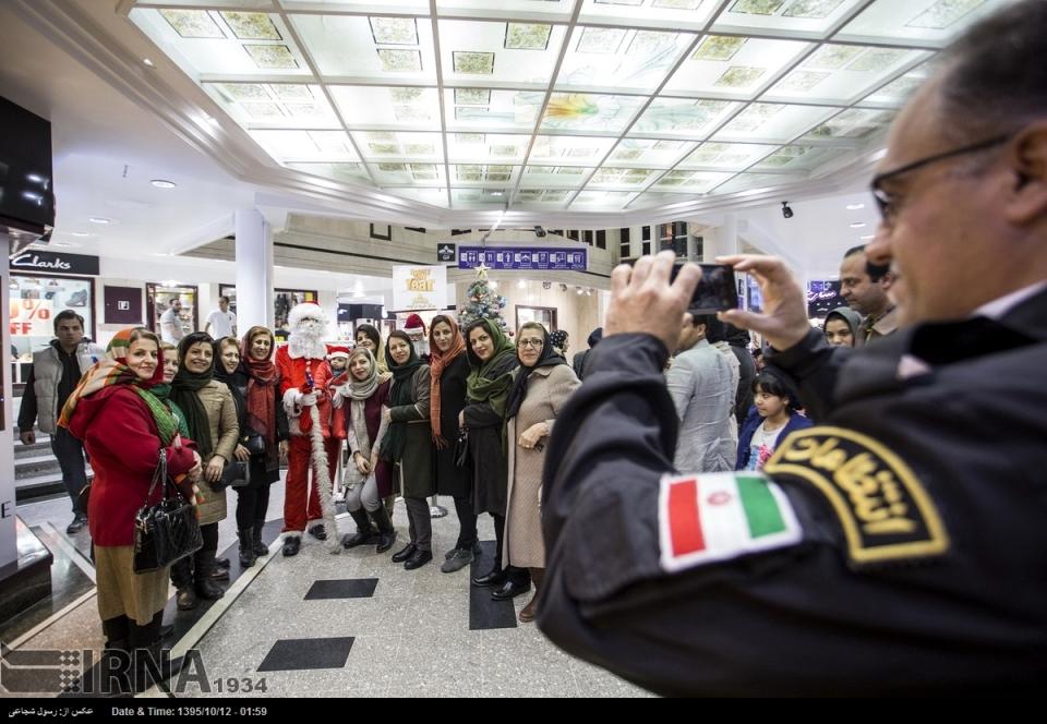 Christmas 2016/2017 in Isfahan, Iran (Photo credit: IRNA)