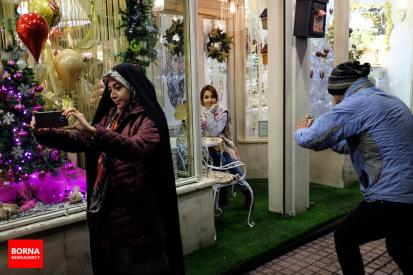 Christmas 2016/2017 in Tehran, Iran (Photo credit: BORNA)