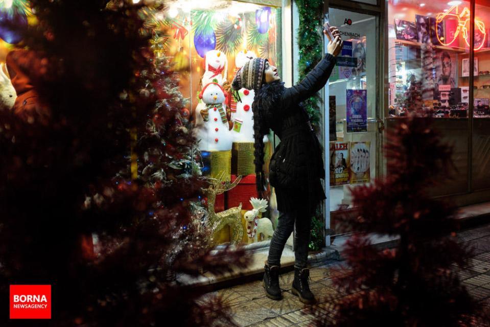 Christmas 2016/2017 in Tehran, Iran (Photo credit: BORNA)