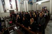 St. Joseph Assyrian Catholic Church in Tehran, Iran on December 24, 2016 (Photo credit: Atta Kenare / AFP)