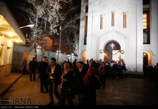 St. Sarkis Cathedral in Tehran, Iran on December 31, 2016 (Photo credit: IRNA)