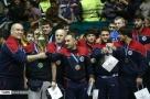 2017 Freestyle World Cup - Team Azerbaijan celebrating their bronze medal (Photo credit Mehdi Marizad, FARS)