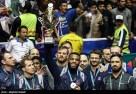 2017 Freestyle World Cup - USA wrestling team celebrating their silver medal (Photo credit Meghdad Madadi, Tasnim)