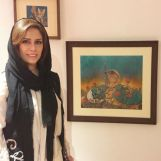 Tooma Art Group - Exhibition at Iranian Artists Forum in Tehran - 2017 April-May