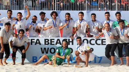 2017 Fifa Beach Soccer World Cup - 3rd place place - Bronze medal winners Iran
