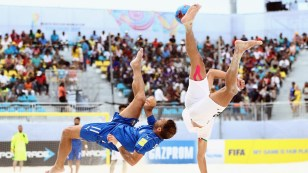 2017 Fifa Beach Soccer World Cup - 3rd place place match - Iran vs Italy - 01