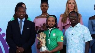 2017 Fifa Beach Soccer World Cup - Peyman Hosseini - Winner adidas Golden Glove