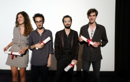 Valentina Maurel (Belgium), Bahram and Bahman Ark (Iran), Tommaso Usberti (France) - Photo credit Mathilde Petit, FDC