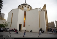 St. Grigor Lusavoritch, Armenian Catholic Church in Tehran - Photo credit IRNA
