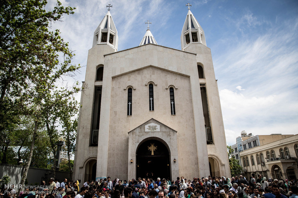 St. Sarkis Cathedral di Teheran, Iran