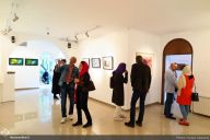 Atbin Gallery, Tehran, April 2017. Photo credit. Farzan Ghasemi, Honar Online