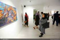 Sareban Gallery, Tehran, May 2017. Photo credit: Honar Online